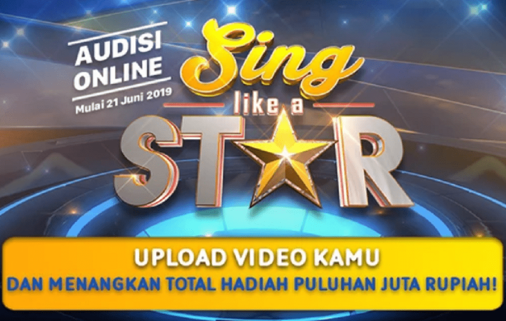 Audisi Online Sing Like A Star SCTV